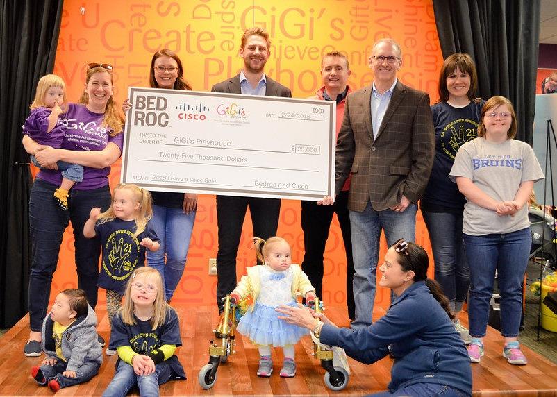 Bedroc Donates $25,000 to GiGi's Playhouse